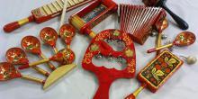 Русские народные музыкальные инструменты (доклад, 4 класс)