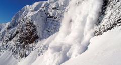 Снежные лавины (презентация, 7 класс)