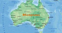 австралия доклад 2 класс окружающий мир