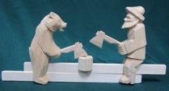 Богородская резная игрушка (доклад, 3 класс)