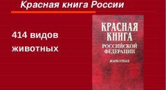 красная книга доклад 2 класс