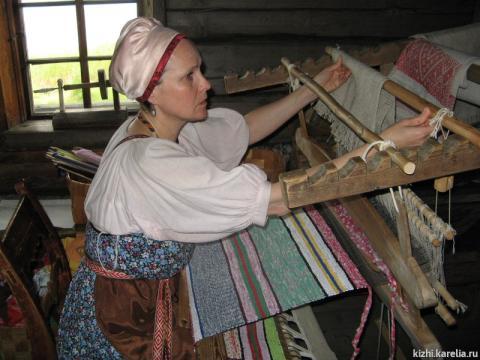 Что такое узорное ткачество? (доклад, 5 класс)