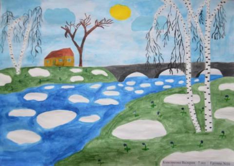 """Сообщение """"Пришла весна"""" по окружающему миру для 2 класса"""