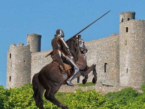 Средневековый рыцарский замок (доклад, 6 класс, по истории)